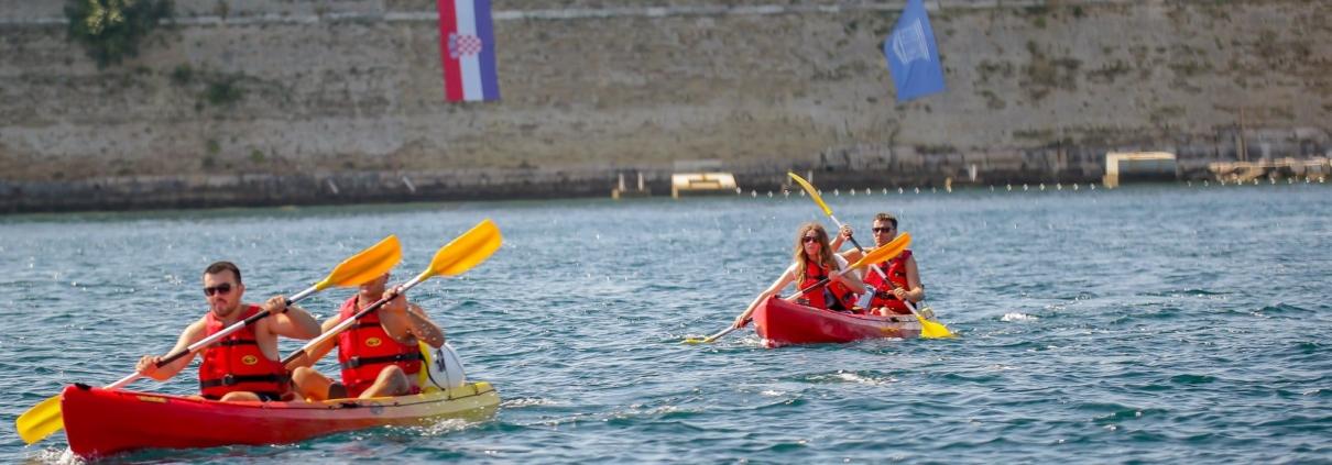 Kayaking croatia sibenik