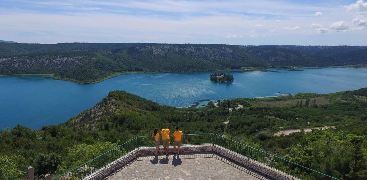 Cetina Island view