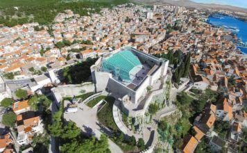 Saint Michaels Fort in Šibenik