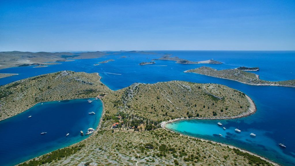 kornati national park šibenik croatia