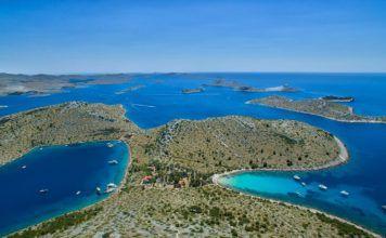 kornati national park šibenik croatia