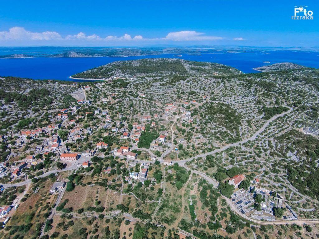 Žirje Island inland view