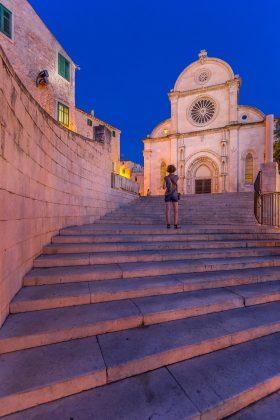Šime Modric St. James Cathedarl Stairs